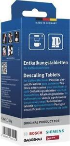 Bosch Tassimo Détartrant / Tablettes Détartrantes Paquet 6 Siemens Neff Café À