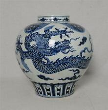 Chinese  Blue and White  Porcelain  Pot  With  Mark       M3015
