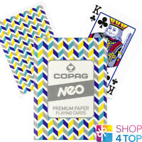 COPAG NEO TUNE POKER PLAYING CARDS DECK PAPER STANDARD INDEX NEW