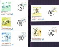 BRD 1997: Mühlen! FIDACOS-Wohlfahrt-FDC Nr. 1948-1952 mit Bonner Stempeln! 1709