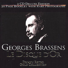 Le Disque d'Or by Georges Brassens (CD, Feb-2004, Proper Records)  A771