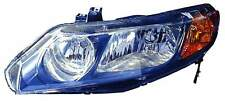 New Honda Civic Sedan 2006 2007 2008 left driver headlight head light