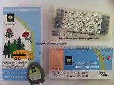 CRICUT ' POTPOURRI BASKET ' Shapes Cartridge 29-0577 For all Cricut Machines