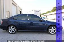 GTG, Fits 2005 - 2009 Subaru Legacy 4dr 2PC Chrome Stainless Steel Pillars Posts