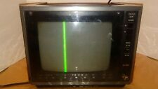 Vintage 1986 Rca Xl-100 Solid State Color Tv Emr295E Rare Clean