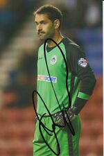 Wigan Athletic mano firmata Scott CARSON 6x4 Foto 1.