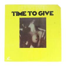 FELIX HARP TIME TO GIVE RARE PSYCH LP 1977 GUINNESS RECORDS TAX SCAM SEALED