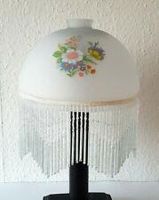 Stilarts Lampenglas Jugendstil alt Ersatz Glas Lampenschirm Lampe Fransen Licht