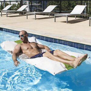 Jaxx Hooch Bean Bag Chair Pool Float Lime Green