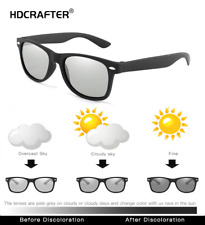 Men Photochromic Polarized Sunglasses Transition Lens Outdoor Square Glasses Hot
