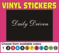 Daily Driven V2 drift ill stance illmotion racing JDM driver sticker decal