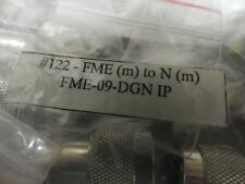 (22 PCS) FME Male to N Male Adapter - USA Seller  (E)