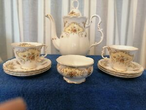 Royal Albert September Song Tea Set in Superb Condition