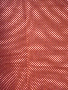 """Vintage Tiny White Hearts on Red Quilt Cotton  Fabrics   RARE   20"""" X 40"""" W NEW"""