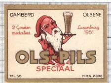 BELGIUM Damberd,Olsene OLS PILS Speciaal dwarf beer label C2033 048