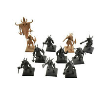 BEASTMEN 10 gors #3 Warhammer Fantasy herd Gor command