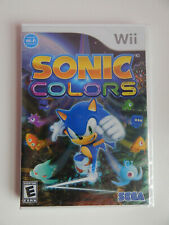 Sonic Colors Game New & Sealed! Nintendo Wii