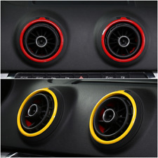 Exterior Air Vent Condition Outlet Ring Cover Trim For Audi A3 8V S3 2013-2016