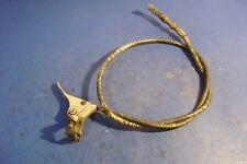harley davidson knucklehead panhead flathead original siren cable & lever police