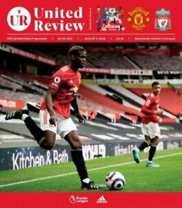 MANCHESTER UNITED  v  LIVERPOOL 2/5/2021 OFFICIAL PROGRAMME