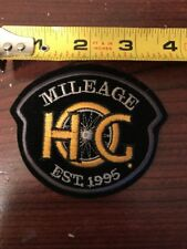 HARLEY DAVIDSON OWNERS GROUP HOG H.O.G.1995 MILEAGE MILES VEST JACKET PATCH