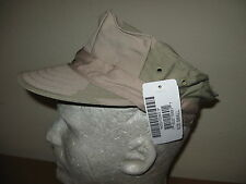 US NAVY SEABEE 8 POINT DESERT COMBAT UNIFORM CAMO UTILITY CAP SIZE SMALL NEW