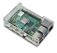 Clear Transparent Case for Raspberry Pi 4 Model B Case - Clear  by SB Components