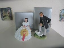 Avon Images of Hollywood Gone With The Wind Rhett & Scarlett Figures New