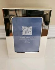 """Silverplated Hand Polished & Lacquer Coated Picture Frame 3.5 x 5"""""""