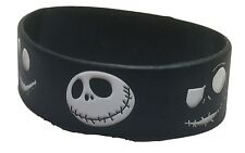Nightmare Before Christmas JACK Face Silicone Bracelet WRISTBAND