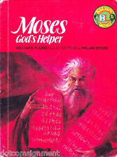 Moses : God's Helper by William E. Young (1976, Hardcover) BibLearn Series