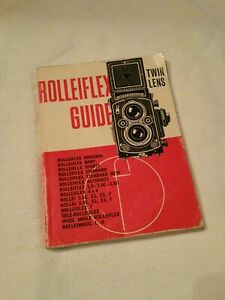 Rolleiflex guide twin lens