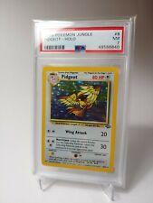 1999 Pidgeot Holo Jungle PSA 7 NM Pokemon #8