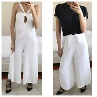 Australian Designer Brand Viktoria & Woods White Jumpsuit Sz M