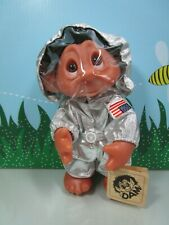 "1977 ASTRONAUT -  9"" Dam Norfin Troll Doll - NEW STORE STOCK - LAST 1"