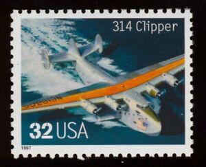 #3142r 32c 314 Clipper, Mint ANY 5=