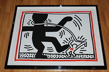 Keith Haring Untitled Free South Africa 2 Silkscreen Print Signed Numbered Art