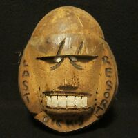 Tiki Barware Mug Dicks Last Resort Sculpted Coconut Head Savings Bank Tip Jar