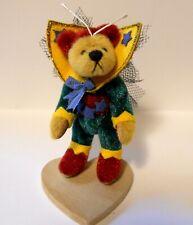 "DEB CANHAM Little Gem Teddy Bears "" STAR BUG "" Miniature 2 1/4"" Bear LIMITED ED"
