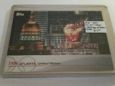 2012 Topps US Olympic Team - Heritage of the Game #OHXXVI 1996 Atlanta