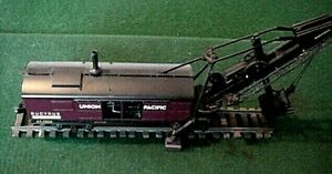 LIMITED PRODUCTION TWH   BUCYRUS O SCALE STEAM SHOVEL