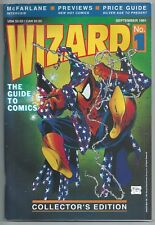 **WIZARD PRICE GUIDE #1**(SEP 1991)**McFARLANE**SPIDER-MAN**FN**W/ POSTER**HTF**