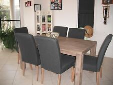 Toronto Dining Room Table with 6 matching chairs and coffee table
