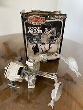 Vintage Star Wars Scout Walker Vehicle AT-ST with Original Box