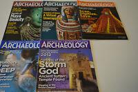 ARCHAEOLOGY Magazine  5 issues 2009