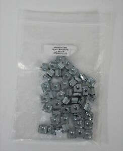 50 pack 10-32 Cage Nuts Rack Mounting Server Mount Hardware