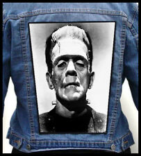 FRANKENSTEIN --- Giant Backpatch Back Patch / Horror Movie Boris