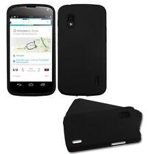 Black/Black Fusion case (Rubberized) for LG E960 (Nexus 4)