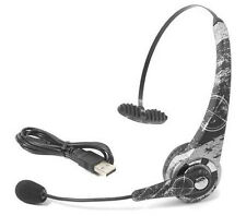 Datel Combat Command Bluetooth Wireless Gaming Headset for PlayStation 3 Ps3