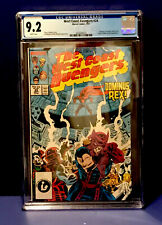 West Coast Avengers #24 CGC 9.2 WHITE Pages Doninus REX / MOON KNIGHT